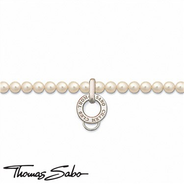 Thomas Sabo Pearl Charm Necklace - Cultured Pearl