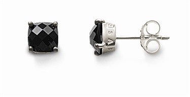 Thomas Sabo Black Stud Earring  - Click to view larger image