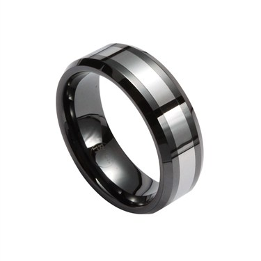 Guise Black Tungsten Ring