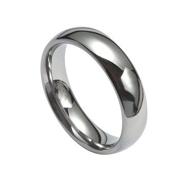 Guise Plain Tungsten Ring