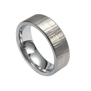 Guise Polished Course Tungsten Ring