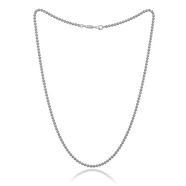 p stainless ss chain steel bc necklace htm ball