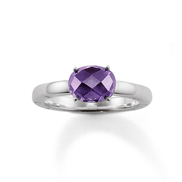 Thomas Sabo Violet Crystal Ring