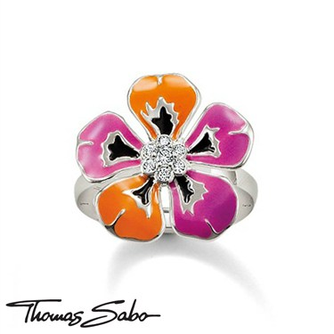 Thomas Sabo Small Tropical Flower Ring