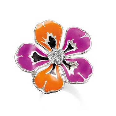 Thomas Sabo Tropical Flower Ring