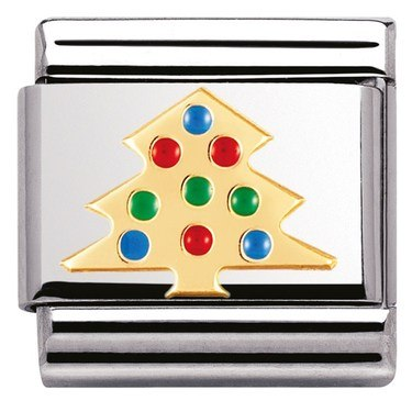 Nomination Charm Christmas Tree  - Click to view larger image