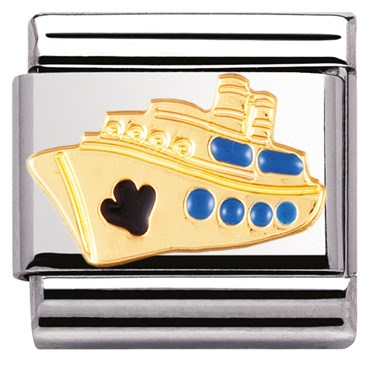 Nomination Cruise Ship Charm  - Click to view larger image