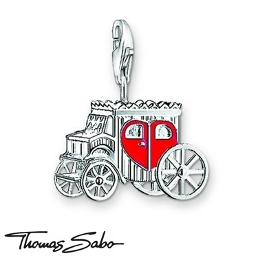 Thomas Sabo Wedding Carriage Charm  - Click to view larger image