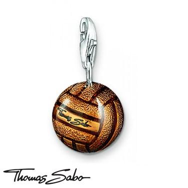 Thomas Sabo Retro Football Charm - Click to view larger image