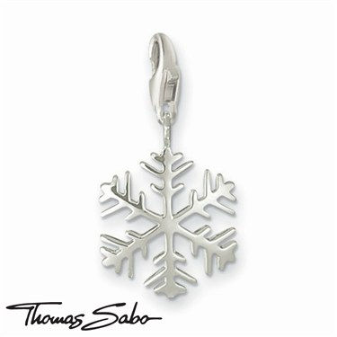 Thomas Sabo Snowflake Charm  - Click to view larger image