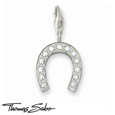 Thomas Sabo Sparkling Horseshoe Charm