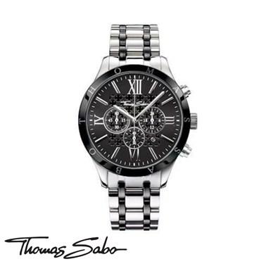 Thomas Sabo Rebel Black Ceramic Watch  - Click to view larger image