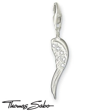 Thomas Sabo Angel Wing Charm   - Click to view larger image