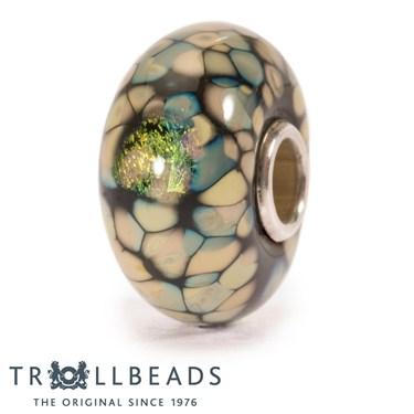Trollbeads Black Flower Mosaic Bead