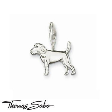Thomas Sabo Dog Charm  - Click to view larger image