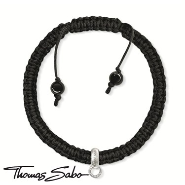 Thomas Sabo Cord Charm Bracelet - Click to view larger image