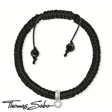 Thomas Sabo Cord Charm Bracelet - Click to view larger image