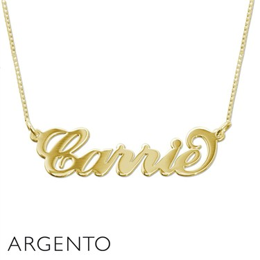 Argento 9 Carat Gold Carrie Necklace