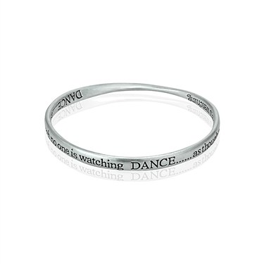 August Woods Dance Affirmation Bangle  - Click to view larger image