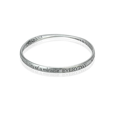 Affirmations Everyday Bangle  - Click to view larger image