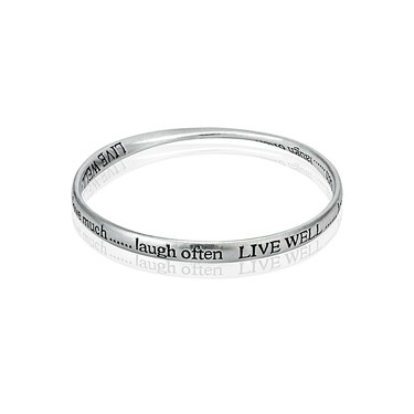 Affirmations Live Bangle  - Click to view larger image