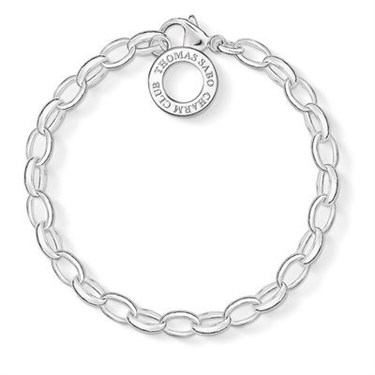 Thomas Sabo Silver Charm Bracelet  - Click to view larger image
