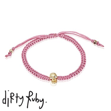 Dirty Ruby Tiny Treasures Pink Rocking It Bracelet