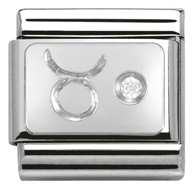 Nomination Taurus Zodiac Charm  - Click to view larger image