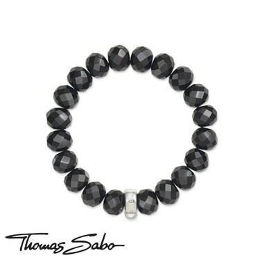 Thomas Sabo Obsidian Charm Carrier Bracelet