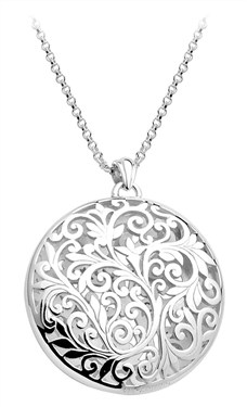 Argento Filigree Pendant Necklace
