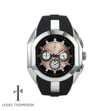 Louis Thompson Chronograph Rose Gold Watch - Click to view larger image