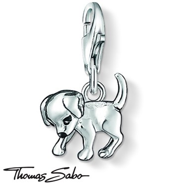 Thomas Sabo Puppy Dog Charm  - Click to view larger image