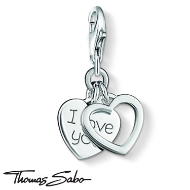 Thomas Sabo I Love You Charm  - Click to view larger image