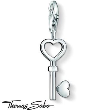 Thomas Sabo Love Key Charm  - Click to view larger image