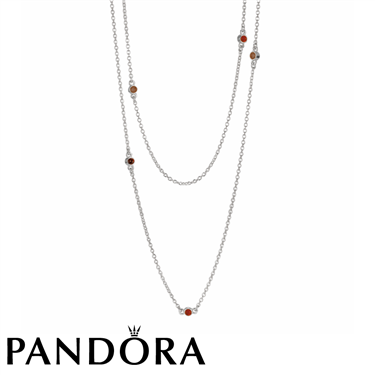 Pandora Silver Layer Necklace