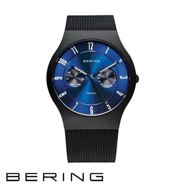 Bering Men's Blue Multifunction Watch