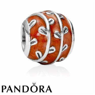Pandora Red Fantasy Charm
