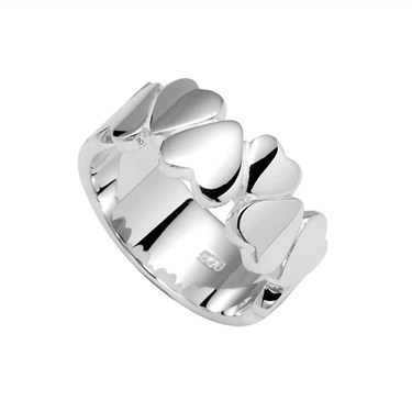 Argento Hearts Ring