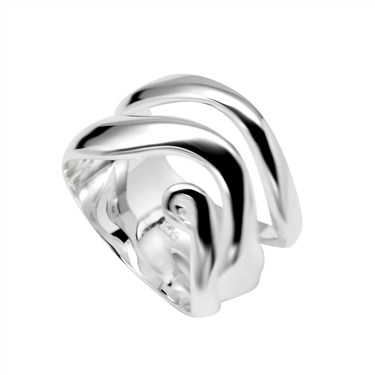 Argento Swirl Ring
