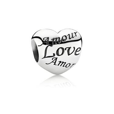 Pandora Amour Heart Charm