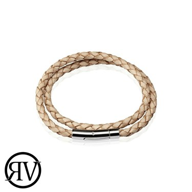 Argento Tan Double Wrap Bracelet