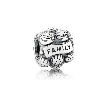 Pandora Love & Family Charm  - Click to view larger image