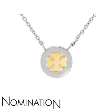 Nomination Clover Charm Necklace  - Click to view larger image