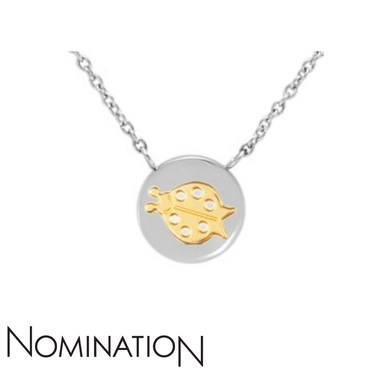 Nomination Ladybird Charm Necklace  - Click to view larger image