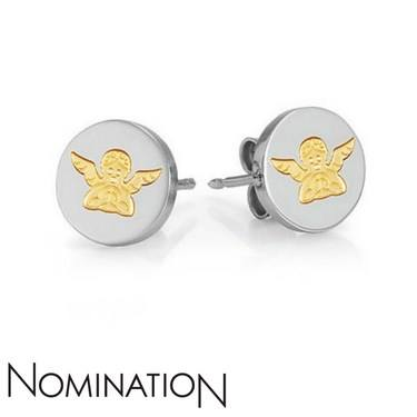 Nomination Guardian Angel Earrings  - Click to view larger image