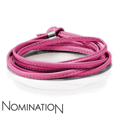 Nomination Fuchsia Strawberry Cord  - Click to view larger image