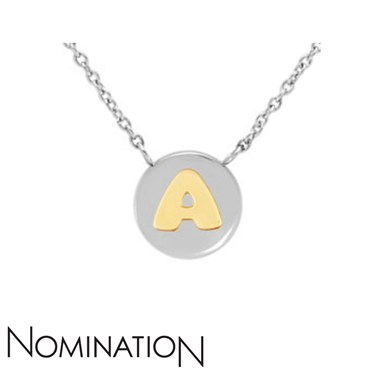 Nomination My Bon Bons Letter A Necklace  - Click to view larger image