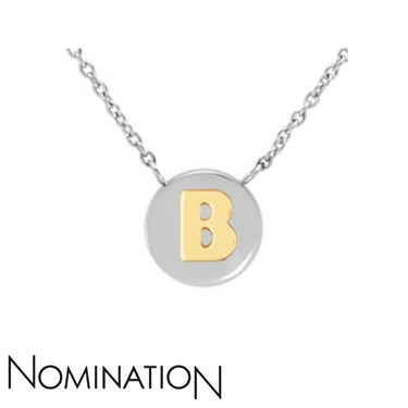 Nomination My Bon Bons Letter B Necklace  - Click to view larger image