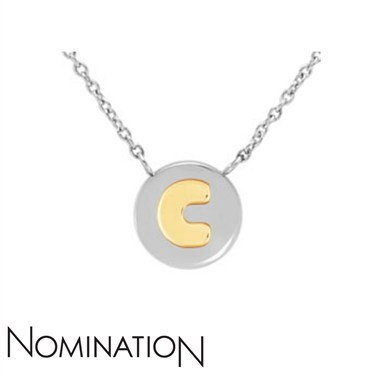 Nomination My Bon Bons Letter C Necklace  - Click to view larger image