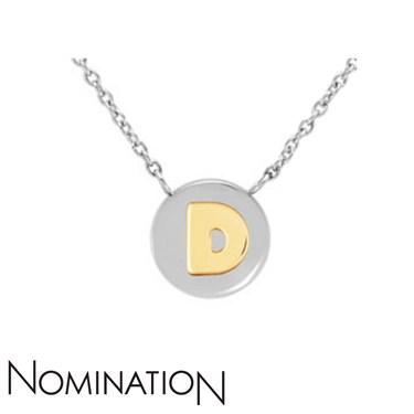Nomination My Bon Bons Letter D Necklace  - Click to view larger image